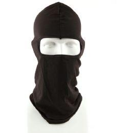 120 Units of Ninja Black Windproof Weather Face Mask - Unisex Ski Masks