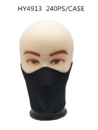 36 Units of Winter Black Half Face Ski Mask - Unisex Ski Masks