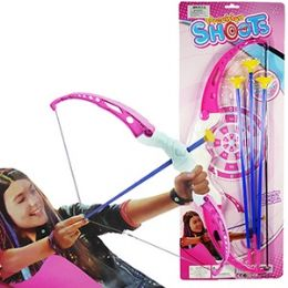 48 Units of 4 Piece Pink Archery Sets - Darts & Archery Sets