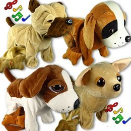 24 Units of JUMBO WALKING DOGS W/ REMOTE CONTROL LEASH & SOUND. - Animals & Reptiles
