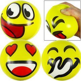 72 Units of LARGE EMOJI STRESS RELAX BALLS - Balls