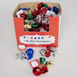 72 Units of Ornament Mini - Christmas Ornament
