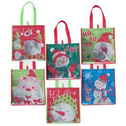 96 Units of Gift Bag Christmas - X-MAS