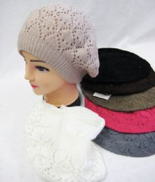 36 Units of Women's 2 Layer Beret Winter Fashion Hat - Fashion Winter Hats