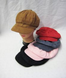 36 Units of Womens Fashion Winter Cap Assorted Colors - Fashion Winter Hats