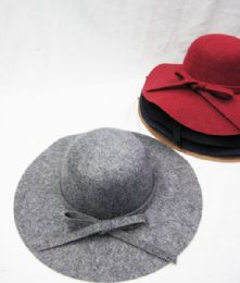 36 Units of Womens Fashion Winter Hat With Bow In Assorted Color - Fashion Winter Hats