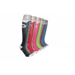240 Units of Ladies High Top Knee High Socks - Womens Knee Highs