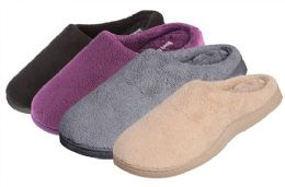 30 Units of Wholesale Terry, Memory Foam Clogs - Women's Slippers