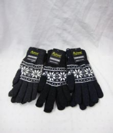 60 Units of Winter Warm Fashion Gloves - Knitted Stretch Gloves