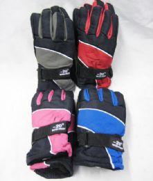 36 Units of Winter Kids Snow Glove - Kids Winter Gloves