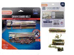 72 Units of 2pc Chain Guard Bolt Set - Padlocks and Combination Locks