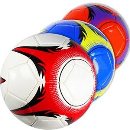 30 Units of OFFICIAL SIZE SNOWFLAKE SOCCER BALLS. - Balls