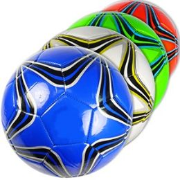 30 Units of OFFICIAL SIZE COLORFUL STAR SOCCER BALLS - Balls
