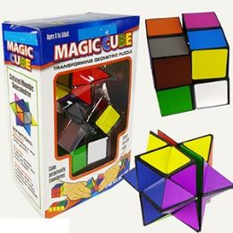 12 Units of 2 PIECE MAGIC CUBE SETS. - Educational Toys
