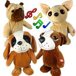 12 Units of JUMBO WALKING DOGS W/MUSIC. - Animals & Reptiles