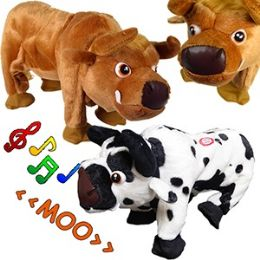 12 Units of DANCING COWS W/ SOUND - Animals & Reptiles