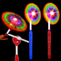 48 Units of LED LIGHT UP WINDMILL WANDS - Wind Spinners
