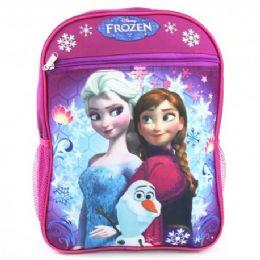 "24 Units of 15"" Disney Frozen Backpack - Backpacks 15"" or Less"