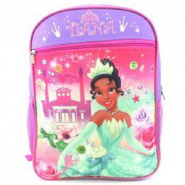 "24 Units of 15"" Disney Tiana Backpack - Backpacks 15"" or Less"