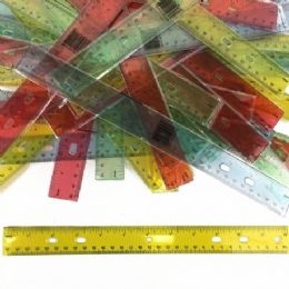 240 Units of 12 Inch Translucent Rulers - Rulers