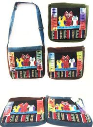 10 Units of Nepal Hobo Bags Group Owl Messenger Bag Style