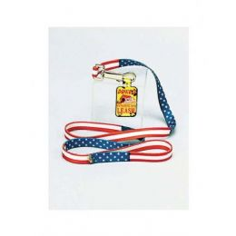 72 Units of Patriotic dog leash - Pet Collars and Leashes
