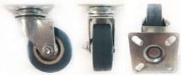 72 Units of 2 Inch Blue Pu Wheel Caster - Hardware Products