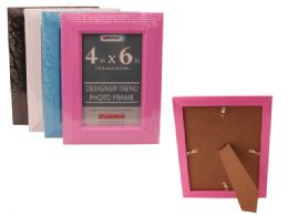 """288 Units of 4""""X6"""" Photo Frame 4 Assorted Colors - Picture Frames"""