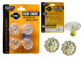 24 Units of 4pc Door & Cabinet Handle Knobs, Screws Included! - Doors