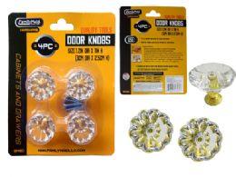 24 Units of 4pc Door & Cabinet Handle Knobs, Screws Included! - Doors