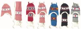 36 Units of kid's Winter Hat And Scarf Set - Winter Sets Scarves , Hats & Gloves