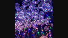 6 Units of Led Balloon - LED Party Supplies