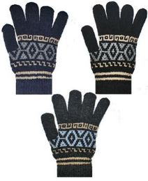 12 Units of GLOVE - Knitted Stretch Gloves