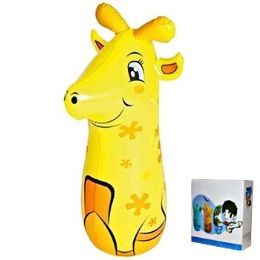 24 Units of Inflatable Punching Bag Giraffe - Inflatables