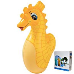 24 Units of Inflatable Punching Bag Sea Horse - Inflatables
