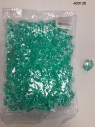 36 Units of Plastic Decoration Stones In Mint Green - Rocks, Stones & Sand