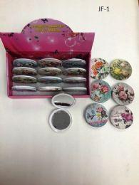 240 Units of Cosmetic Pocket Plastic Mirrors - Wall Decor