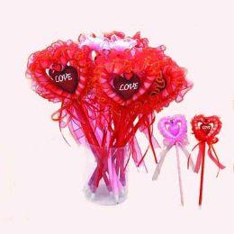 12 Units of HEART LACE PEN 12 PIECE - Valentine Cut Out's Decoration