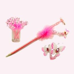 12 Units of Quill Butterfly Pen - Valentine Cut Out's Decoration
