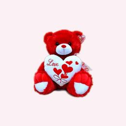 "15"" Musical Red Bear - Valentine Cut Out's Decoration"