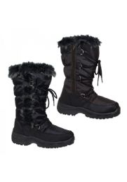 12 Units of Womens' Winter Warm Boots - Women's Boots