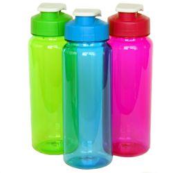 """36 Units of Water Bottle - Flip Top, 21oz.- 8-1/2"""" - Sport Water Bottles"""