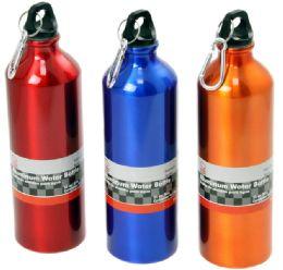 "24 Units of Aluminum Water Bottle, 25 Oz. - 10"" - Sport Water Bottles"