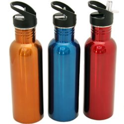 "24 Units of Stainless Steel Water Bottle, 25 Oz.- 10-3/4"" - Sport Water Bottles"