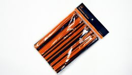 "24 Units of Halloween Flexible Straws 100 CounT- 8-1/4"" - Straws and Stirrers"
