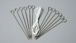 """72 Units of Poultry Lacing Kit -12 Pieces 4"""" Pins 54"""" Lacing - Kitchen Gadgets & Tools"""