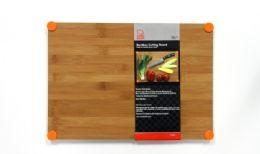 6 Units of Cutting Board 12 X17, Bamboo & Silicone - Cutting Boards