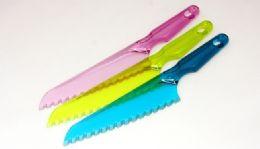 "72 Units of Plastic Lettuce Knife 12"" - Kitchen Knives"
