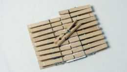 """36 Units of Clothes Pins, Wood, Large 20 Pieces 3 1/4"""" - Clothes Pins"""