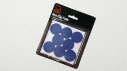 "72 Units of PVC Pads, Blue, 1 1/4"", 8 Piece - Home Accessories"